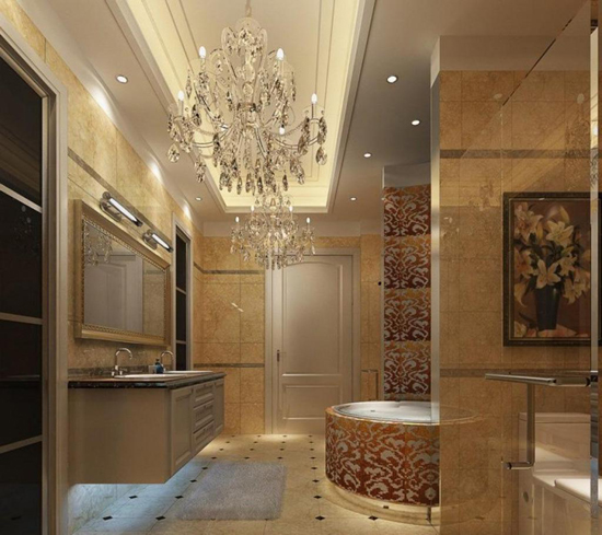 Luxurious Bathroom Lighting