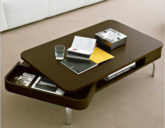 18 modern coffee table ideas ultimate home ideas for Table design 10 personnes