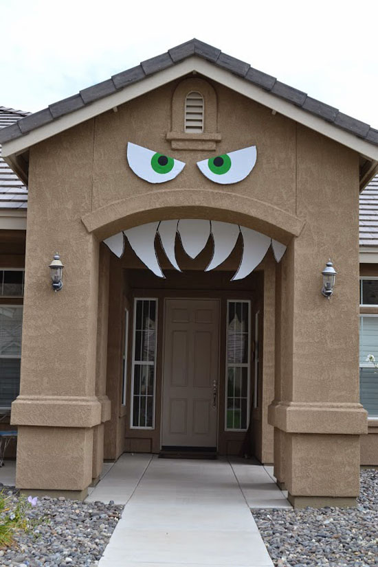 Monster Halloween Decor Ideas