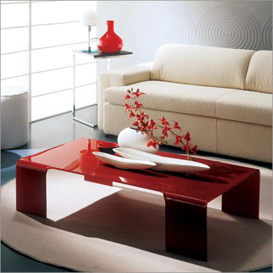 Modern Acrylic Coffee Table