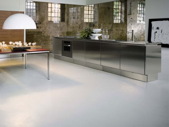 Stainless steel kitchen ideas