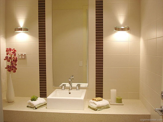 Trendy Bathroom Lighting Fixtures