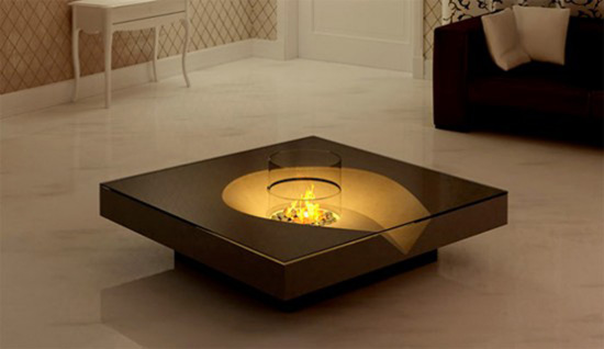 The Fireplace Coffee Table