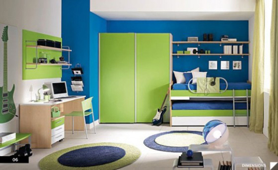 15 blue and green boys room ideas ultimate home ideas for Blue and green girls bedroom ideas