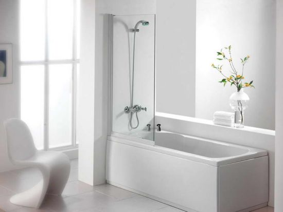 tub shower combo with glass doors compact elegant white tiled bathtub and bath sizes cheap