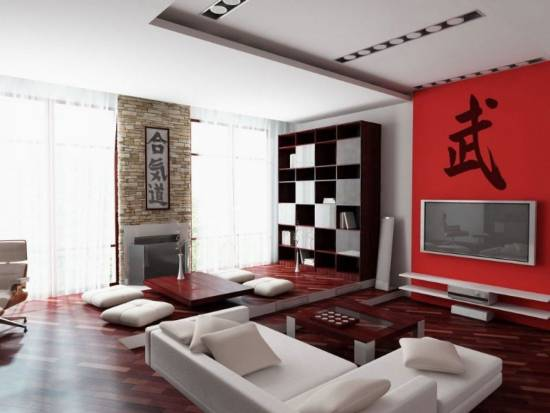 Genial Elegant Japanese Tea Room Cum Living Room