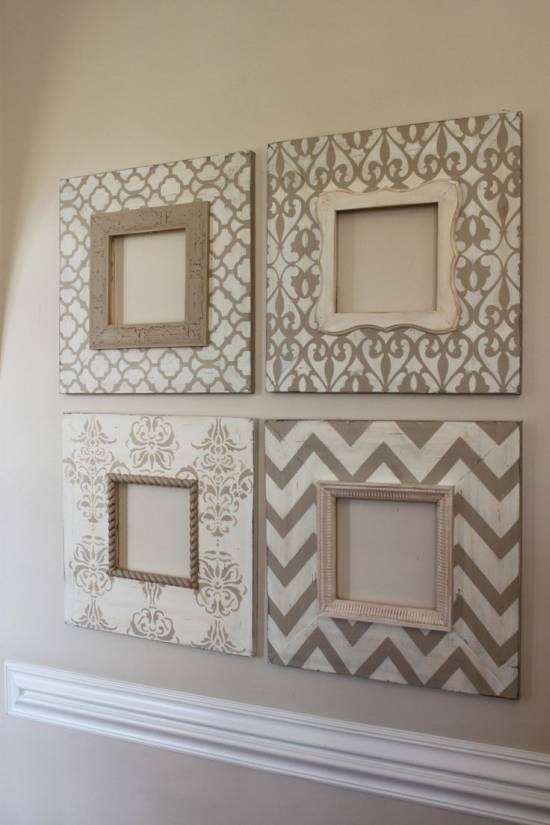 home decorating ideas picture frames use empty frames to decorate home ultimate home ideas 12720