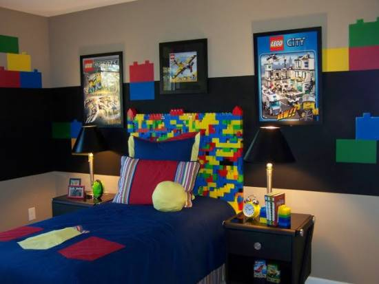 LEGO Themed Room