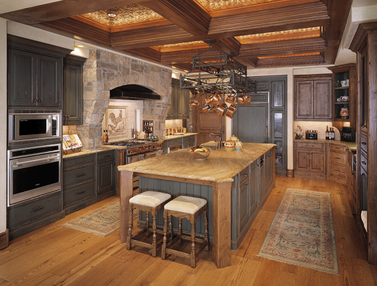 Image gallery modern tuscan kitchen Tuscan home interior design ideas