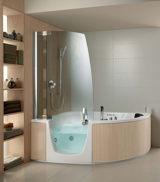 Superior Big Tub Shower Combo Part - 7: Shower Idea