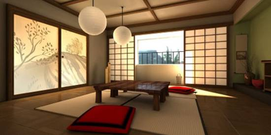 Japanese interior design ideas ultimate home ideas for Tea room interior design ideas