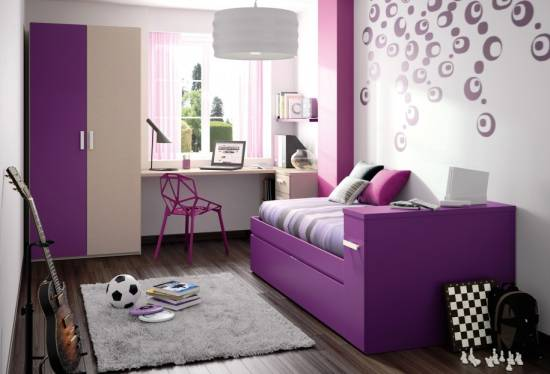 With Minimal Furniture And More Of Sport And Musical Equipment, This Room  Is Sure To Bring Smiles. Vibrant Colors