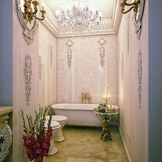 Simple Elegant Bathroom Designs: 18 Elegant Romantic Bathroom Designs