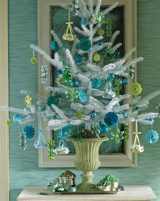 50 christmas tree decorating ideas ultimate home ideas for Small christmas decorations