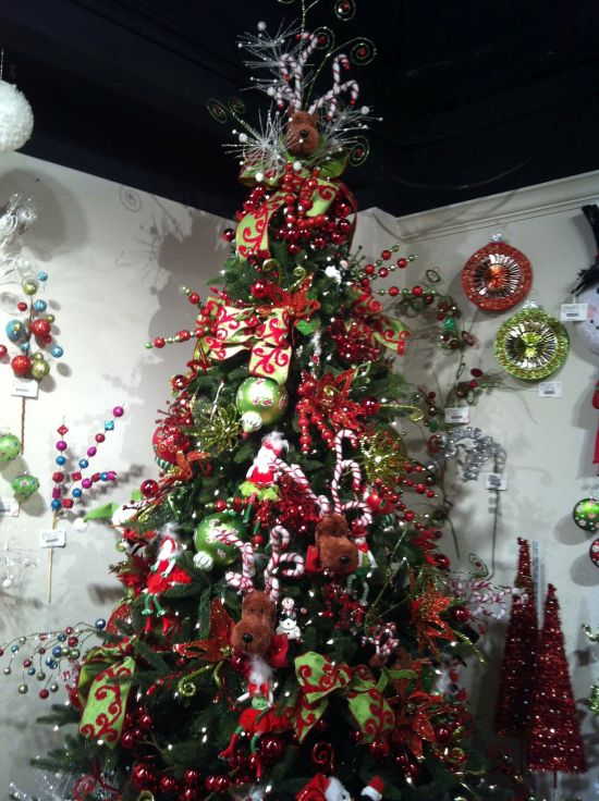 50 christmas tree decorating ideas ultimate home ideas for Red christmas decoration ideas