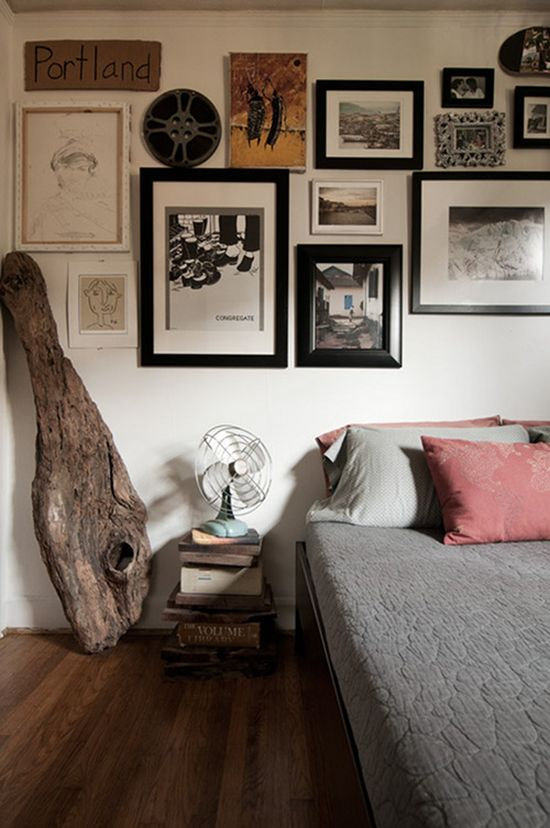 60 diy bedroom nightstand ideas ultimate home ideas for Apartment bedroom ideas hipster