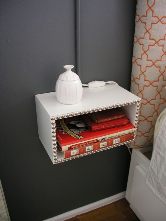 Cheap Nightstand Ideas Part - 29: Bedroom Nightstand Ideas