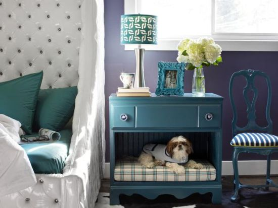 DIY pet bed nightstand idea - NO.1# THE MOST BEAUTIFUL DIY BEDROOM NIGHTSTAND IDEAS