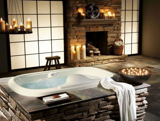 awesome romantic bathroom | 18 Elegant Romantic Bathroom Designs | Ultimate Home Ideas