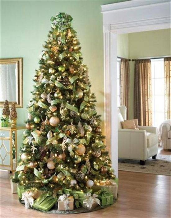 50 christmas tree decorating ideas ultimate home ideas for Xmas tree decoration ideas