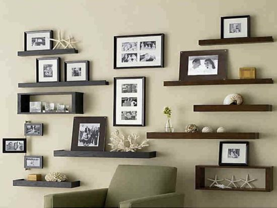 15 living room storage ideas ultimate home ideas for Living room shelves