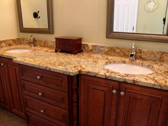granite colors for bathroom countertops bathroom countertop ideas and tips ultimate home ideas 23262