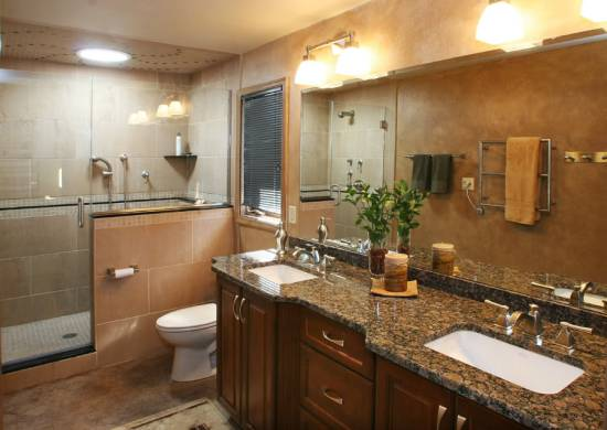 light colored granite for bathroom bathroom countertop ideas and tips ultimate home ideas 23681