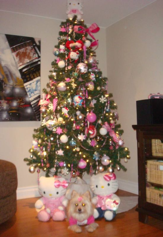 Hello Kitty Christmas tree ideas for 2014