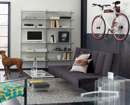 smart bicycle storage solution for small apartment