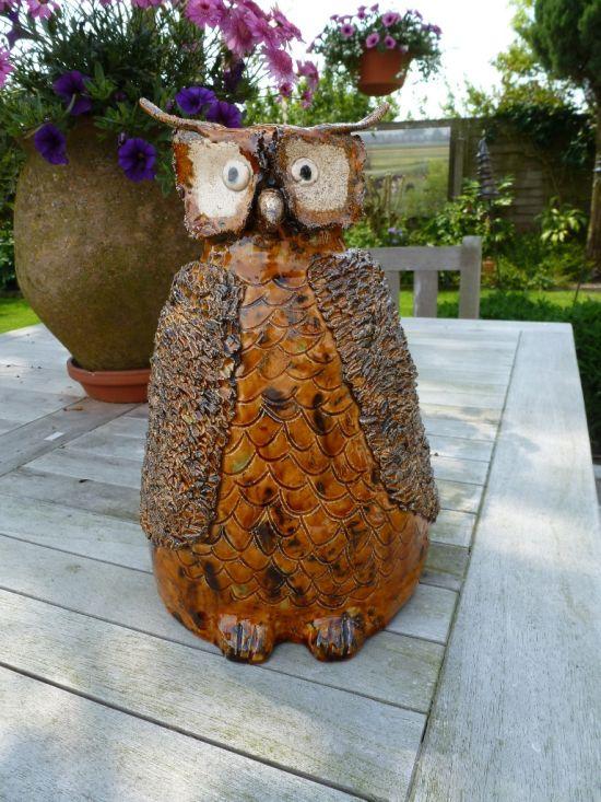 Unique Owl Garden Decor. Home Decor Ideas