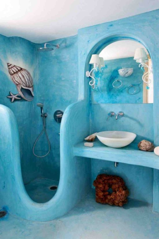 25 kids bathroom decor ideas ultimate home ideas for Accessoires salle de bain theme mer