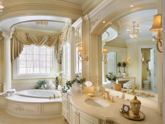 18 elegant romantic bathroom designs ultimate home ideas for Elegant southern home decorating ideas