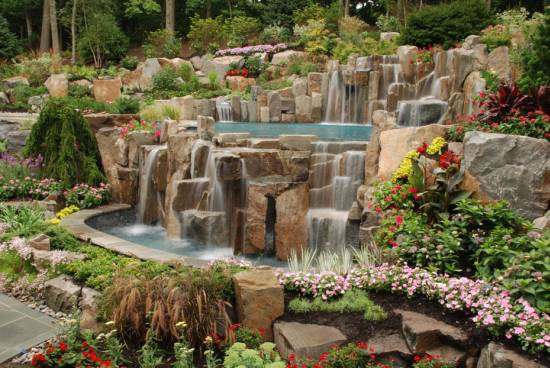 Backyard Waterfall Designs Small Backyard Waterfall Ideas Backyard Waterfalls  Design Ideas Home Plus This This Plus
