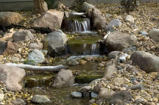 backyard waterfall ideas