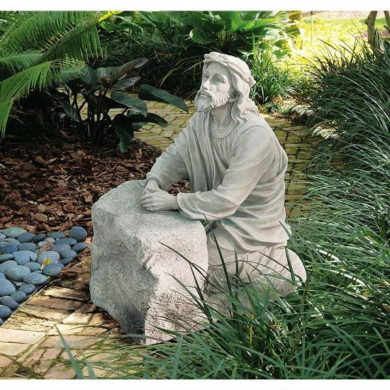 50 stunning garden statue ideas ultimate home ideas Jesus praying in the garden of gethsemane