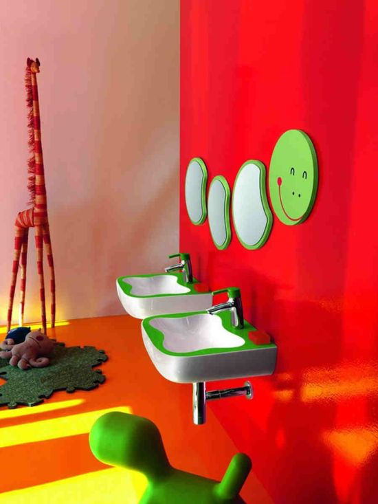7 Inspiring Kid Room Color Options For Your Little Ones: 25 Kids Bathroom Decor Ideas