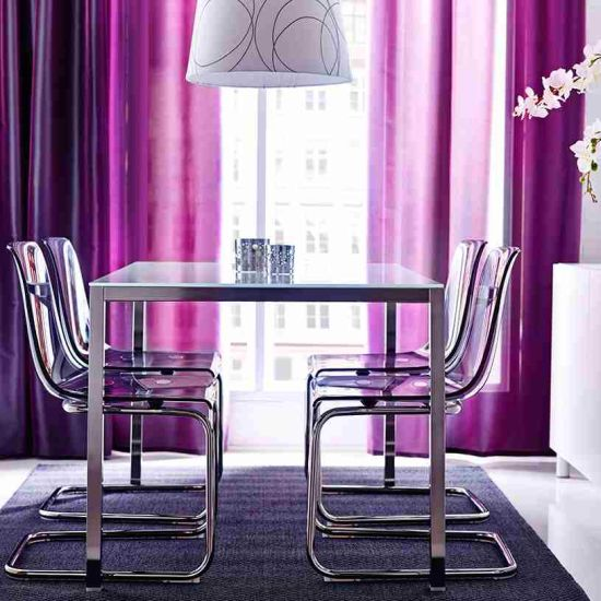 Bon Purple Dining Room