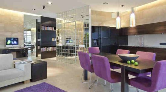 Best Purple Dining Room Contemporary - Room Design Ideas ...