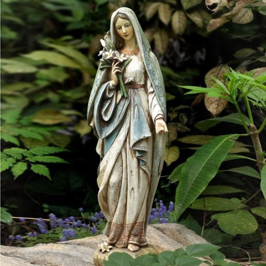 Exceptional Mother Mary Statue For Garden. Garden Statue Ideas