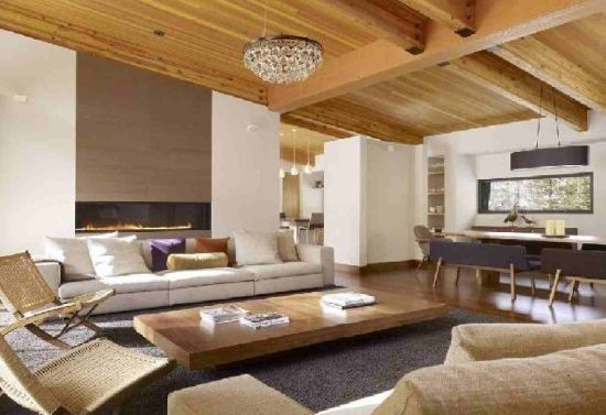 22 Rustic Living Room Designs Ultimate Home Ideas: modern rustic living room