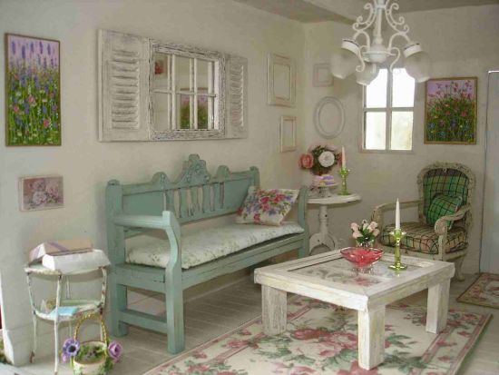 22 rustic living room designs ultimate home ideas - Salones estilo shabby chic ...