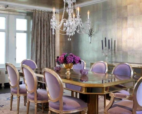 20 Eclectic Purple Dining Room Ideas
