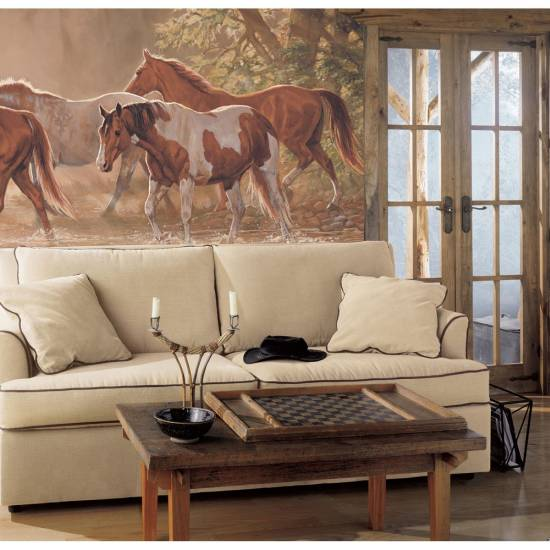 16 western living room decorating ideas ultimate home ideas for Blood in blood out mural la river