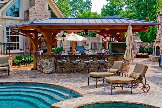 Backyard House Ideas : 50 Backyard Swimming Pool Ideas  Ultimate Home Ideas