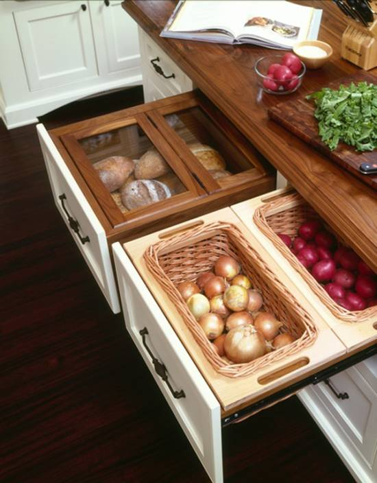 Smart Ideas For Kitchen Storage: 15 Trendy Kitchen Storage Ideas