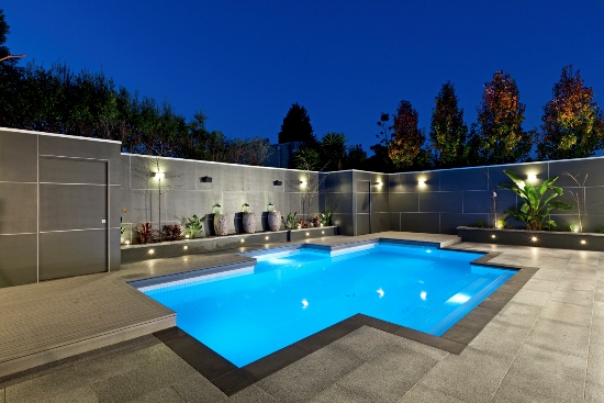 Simple Pool Ideas backyard landscaping with pool pool landscaping plantssimple landscaping ideasbackyard Backyard Swimming Pool Ideas