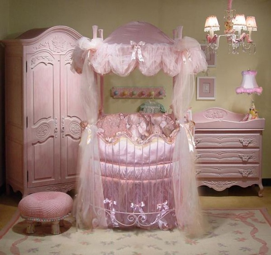 Interior Design Elegant Pink White Gray Baby Girl Room: 50 Creative Baby Nursery Rugs Ideas