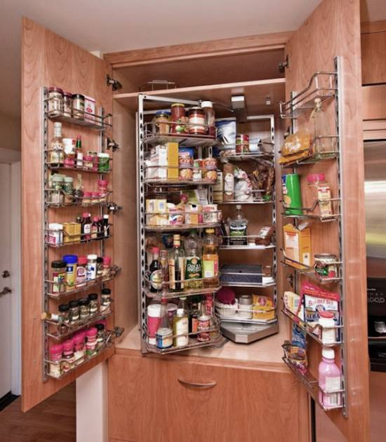 15 trendy kitchen storage ideas ultimate home ideas for Kitchen cabinets storage