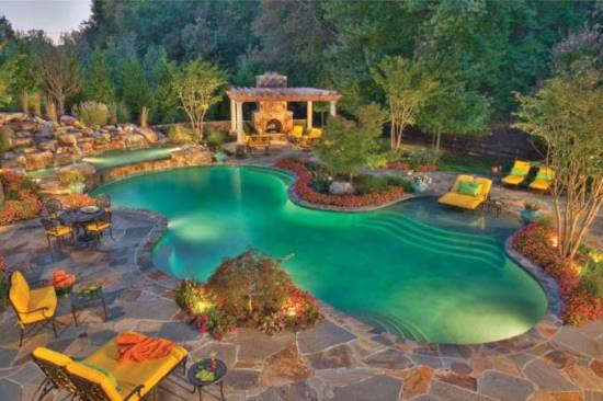 Swimming Pool Ideas 25 best ideas about swimming pools on pinterest swimming pools backyard swimming pool designs and pool designs Backyard Swimming Pool Ideas