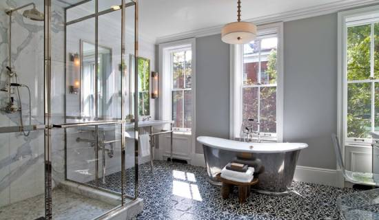 Wonderful Victorian Bathroom Tile Best With Additional